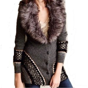 Anthropologie Sleeping On Snow Corby Cardigan